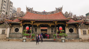 A Chinese temple in Taipei, Taiwan Stock Images