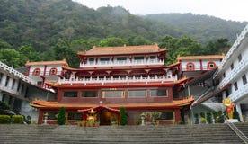 Chinese temple at Taroko National Park, Hualien, Taiwan Stock Images