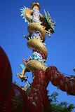 Chinese temple, Thailand. Royalty Free Stock Image
