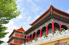 Chinese temple in Thailand Royalty Free Stock Photo