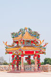 Chinese temple in Thailand. Chinese temple in Loei, Thailand Stock Photos