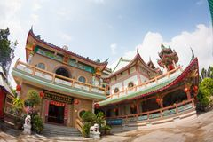 Chinese Temple in Thailand Stock Photos
