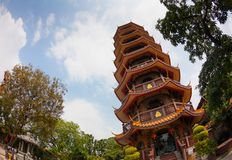 Chinese Temple in Thailand Royalty Free Stock Image