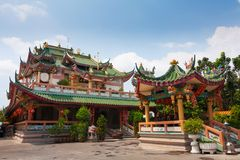 Chinese Temple in Thailand Stock Image