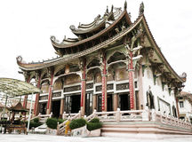 Chinese temple in Thailand,Bangkok. Royalty Free Stock Photo
