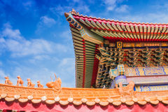 Chinese temple in Thailand. Royalty Free Stock Photography