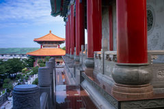 Chinese temple in Thailand. Royalty Free Stock Photos