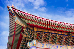 Chinese temple in Thailand. Stock Photography