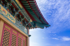 Chinese temple in Thailand. Stock Photos