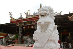 Chinese Temple. Thean Hou Temple in china Royalty Free Stock Photos