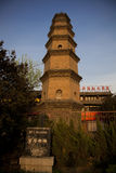 Chinese Temple Tower Stock Image