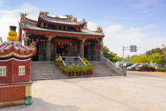 Chinese Temple under the blue sky Stock Image