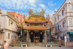 Chinese Temple under the blue sky Royalty Free Stock Images