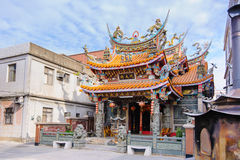 Chinese Temple under the blue sky Stock Photo