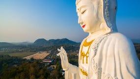 Chinese temple wat Hyua Pla Kang in Chiang Rai north of Thailand. Royalty Free Stock Image