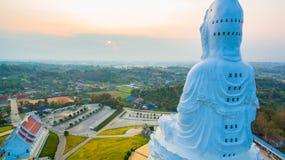 Chinese temple wat Hyua Pla Kang in Chiang Rai north of Thailand. Stock Image