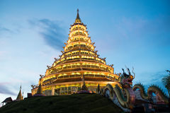 Chinese temple - wat hyua pla kang Royalty Free Stock Photo