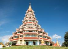 Chinese temple - wat hyua pla kang Royalty Free Stock Images
