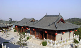 Chinese  Temples. Quiet temples,XiQiao Hill GuangDong of China Stock Photos