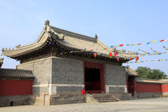 Chinese temples building Royalty Free Stock Photo
