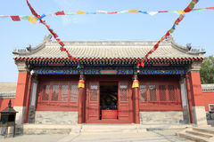 Chinese temples building Royalty Free Stock Images