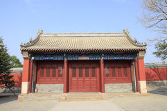 Chinese temples building Stock Images