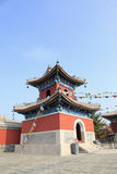 Chinese temples drum tower Royalty Free Stock Image