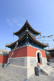 Chinese temples drum tower Royalty Free Stock Photo
