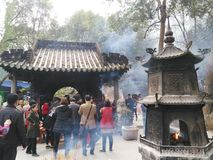 Chinese temples Royalty Free Stock Images
