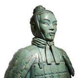Chinese Terracotta Soldier Statue Royalty Free Stock Photos