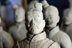 Chinese terracotta warrior Royalty Free Stock Images