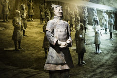 Chinese terracotta warrior Royalty Free Stock Photo