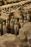 Chinese terracotta warriors Stock Images