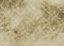 Chinese textured pattern in filigree for backgroun Royalty Free Stock Photography