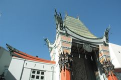 Chinese Theater. Mann Chinese Theater, Hollywood, California royalty free stock image