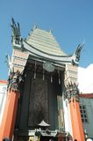 Chinese Theater. Mann Chinese Theater, Hollywood, California royalty free stock photography