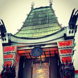 Chinese Theater. Royalty Free Stock Image