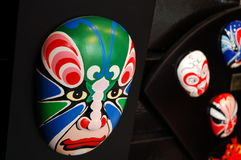 Chinese theatrale make-up Stock Foto
