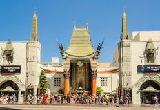 Chinese Theatre in Hollywood Boulevard, Los Angeles Stock Photo