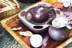 Chinese theeceremonie stock foto's