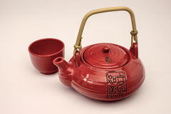 Chinese theepot. Stock Afbeelding
