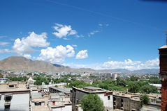 Chinese Tibet Shigatse Stock Photos