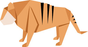 Chinese Tiger Stock Image