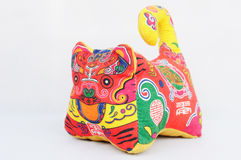 Chinese tiger toy Stock Photography
