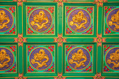 Chinese tiles royalty free stock photo