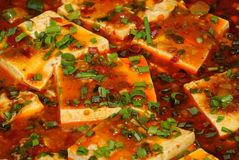 Chinese tofu. In the market Royalty Free Stock Image