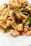 Chinese Tofu Skin Royalty Free Stock Images