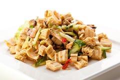 Chinese Tofu Skin Stock Photography