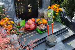 Chinese Tomb sweeping royalty free stock image