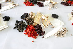 Chinese tonic herbal medicine for pregnant Royalty Free Stock Photography
